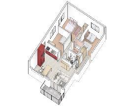 Appartamento all´ultimo piano