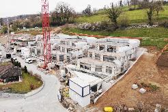 Blick auf das Projekt Chlosterrebe