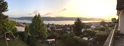 Möbliertes Haus mit Panorama See- und Bergsicht