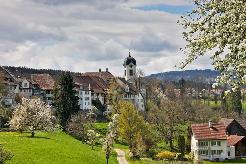Wohnen in einem historischen Haus im Stedtli von Grüningen
