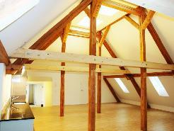 Einmalige Dachwohnung 158 m2 Loft mit Terrasse