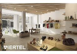 Innenvisualisierung eines möglichen Shops